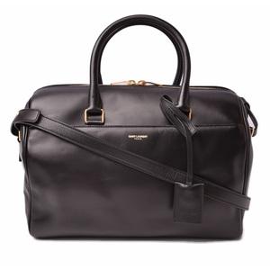 Saint Laurent Handbag Shoulder Bag SAINT LAURENT Classic Duffel 6 2WAY Black 322049