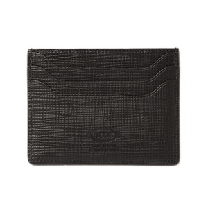 Tod's Card Case Business Holder TOD'S Men's Leather Black XAMAAAF200