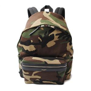 Yves Saint Laurent Saint Laurent backpack rucksack YSL SAINT LAURENT city camouflage army green 435988