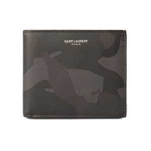 Yves Saint Laurent Saint-Laurent Paris Purse Wallet YSL SAINT LAURENT PARIS Men's wallet 396307 CAMOUFLAGE Camouflage