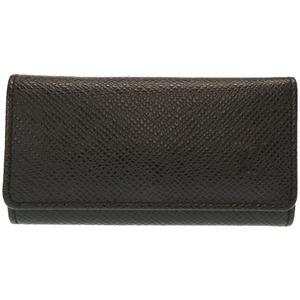 Louis Vuitton Taiga Multiccle 4 Ardwards M30522 consecutive key case 0316 black LOUIS VUITTON