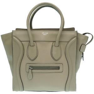 Celine Luggage Micro Shopper Handbag 0322 CELINE