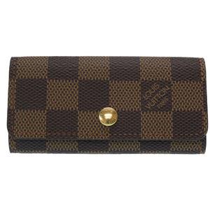 Louis Vuitton Damier Multique 4 Key Case N62631 Evene LV 0339 LOUIS VUITTON