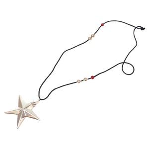 Cippy Crazy Horse Sippy Crazy Horse Star Mark Silver 925 Necklace Accessories 0048 Cippy