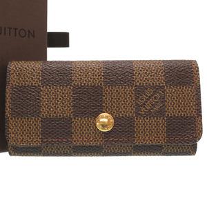 Louis Vuitton Damier Muchirikure 4 N62631 consecutive key case LV 0349 LOUIS VUITTON