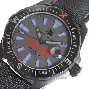TAG Heuer HEUER Aqua Racer Phantom One Piece Special Edition WAY 218 D PVD Automatic Mens Watch