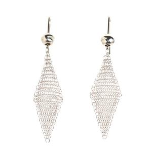 Tiffany & Co. TIFFANY CO Elsa Peretti Mesh Earrings SV925 Ladies Jewelry Finished