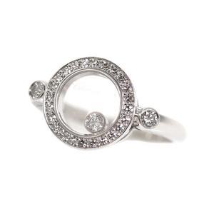 Chopard Happy Diamond Ring K18WG Ladies Jewelry Finished