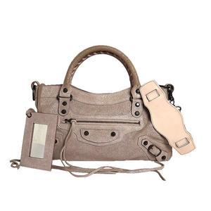 Balenciaga BALENCIAGA the first 103208 lambskin metallic pink 2WAY bag women