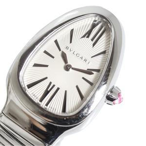 Bulgari BVLGARI Serpenti SP35S Bangle Watch Silver Quartz Ladies