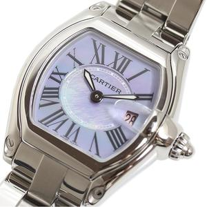 Cartier Roadster SM 2008 Christmas Limited W6206007 Purple Shell Quartz Ladies Watch