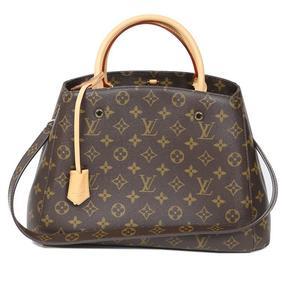 Louis Vuitton Montaigne MM N41056 Monogram 2 Way Shoulder Bag Women LOUIS VUITTON