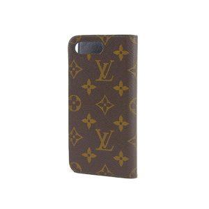 ルイ・ヴィトン(Louis Vuitton) LOUIS VUITTON ルイヴィトン 日本限定 フォリオ iPhone7+ ケース モノグラム アイフォン だるま 歌舞伎 M67254   20190614