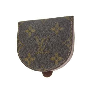 LOUIS VUITTON Louis Vuitton Portomonet Cuvettes Monogram Coin Case Brown Tea Purses M61960 20190628