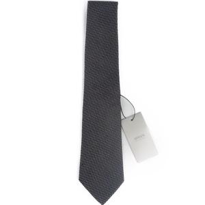 アルマーニ(Armani) アルマーニ コレッツォーニ ARMANI COLLEZIONI メンズ ネクタイ イタリア製 シルク100% ブラック