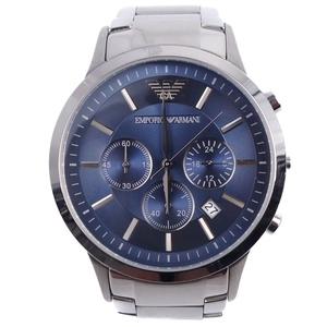 Emporio Armani EMPORIO ARMANI Men's Quartz Chronograph Watch Silver