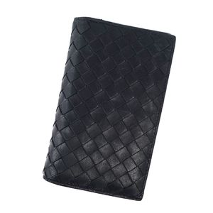 Bottega Veneta BOTTEGA VENETA Made In Italy Card Case Business Holder Leather Men's Women's Black