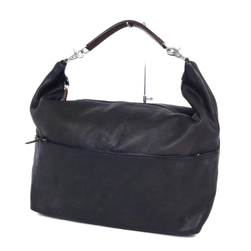 ダニエル&ボブ(Daniel & Bob) ダニエル&ボブ Daniel&Bob イタリア製 メンズ ショルダーバッグ 旅行かばん レザー 本革 バッグ 鞄 ブラック メンズバッグ