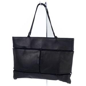 プラダ(Prada) プラダ PRADA イタリア製 レディース レザー ハンドバッグ ブラック バッグ 鞄 本革 黒