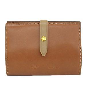 Celine CELINE Passport Case Cover Leather Tea 1AA383A07 04LU