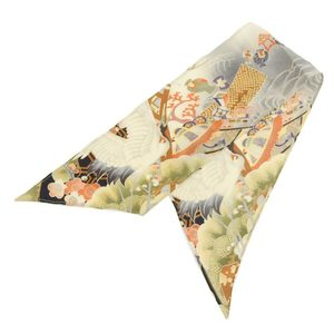 Gucci Gucci 2003 items Tomford period Japanese pattern silk twilly scarf