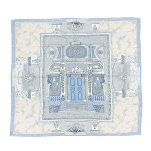 Louis Vuitton LOUIS VUITTON VESTIBULE Hotel de MENIER Cashmere silk 140 cm oversized stall