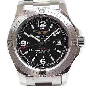 BREITLING Breitling Men's Watch Colt A74388 Black (Black) Dial Quartz