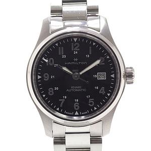 HAMILTON Hamilton Men's Watch Khaki Field H89305133 Nano Universe Bespoke Model Black (Black) Dial