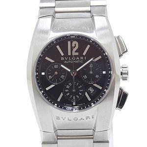 BVLGARI Bulgari Boys Wrist Watch Ergon Chronograph EG35SCH Black (Black) Dial Like New