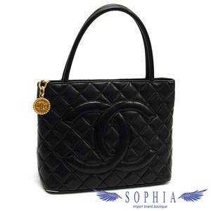 Chanel caviar skin reprinted tote bag black 20190617