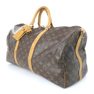 Louis Vuitton LOUIS VUITTON Monogram Canvas Ki-Pol 50 Bundriere Boston Bag Women