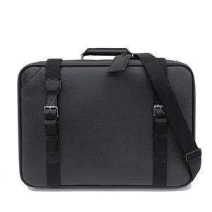 B 楽 本本 ☆ Genuine Louis Vuitton Taiga Satellite 2WAY travel case bag Aldrich leather