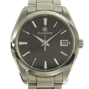 B rakushi net store ☆ genuine SEIKO Grand Seiko men's quartz watch 9F82-0AF0