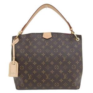B 市 本本 ☆ LO LOUIS VUITTON Louis Vuitton Monogram Graceful PM One-shoulder bag leather