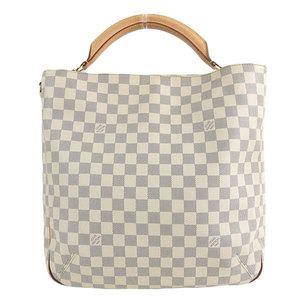 B 楽 本本 ☆ LO LOUIS VUITTON Louis Vuitton Damier Azur Sophi 2 WAY Shoulder bag N41216 Leather