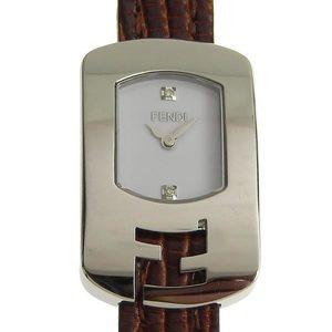 B Rakushi net store ☆ genuine FENDI Fendi ladies' quartz watch 30000 L