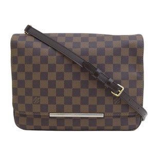 B 市 本本 ☆ 物 LOUIS VUITTON Louis Vuitton Damier Hoxton GM Shoulder bag N41253 leather