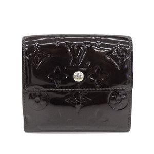 B Buraichi Main Store ☆ genuine Louis Vuitton Werney W hook wallet two-fold amarant leather