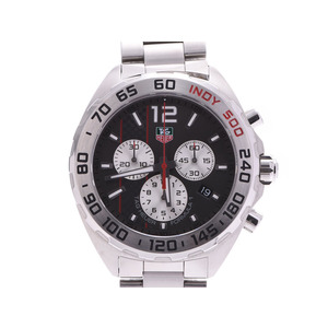 Tag Heuer Formula 1 INDY 500 CAZ 1114.BA0877 Gray Dial Men's SS Quartz Watch A Rank Beauty Product TAG Gala Used Ginzo