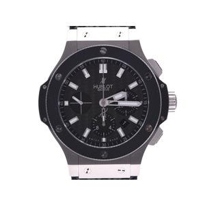 Hublot Big Bang Evolution Black Dial 301.SM.1770.GR Men's Ceramic / SS Rubber Automatic Watch A Rank HUBLOT Galla Used Ginzo