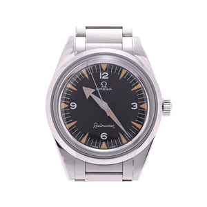Omega Trilogy Railmaster 60th LIMITED Limited Edition Black Dial 220.10.38.20.01.002 Men's SS Automatic Watch Wristwatch Box OMEGA