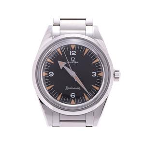 オメガ トリロジーレイルマスター 60th LIMITED限定 黒文字盤 220.10.38.20.01.002 メンズ SS 自動巻 腕時計 腕時計 箱 OMEGA