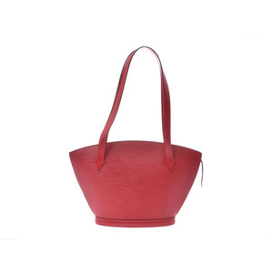 Louis Vuitton Epi San Jacques Long Red M52337 Women's Genuine Leather Bag A rank Beauty goods Used Ginzo