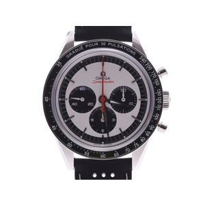 Omega Speedmaster Moon Watch CK2998 LIMITED Silver Dial 311.32.40.30.02.0.001 Men's SS / Leather Automatic Winding A Rank Beauty Product OMEGA Box Galley