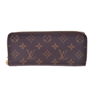 Louis Vuitton Monogram Portofeil Clemence Flower Cokurico M62940 Women's Genuine Leather Long Wallet AB Rank LOUIS VUITTON Used Ginzo