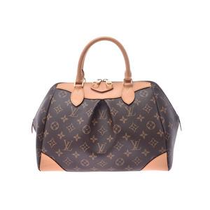 Louis Vuitton Monogram Segur Brown M41632 Women's Genuine Leather 2WAY Handbag A rank LOUIS VUITTON with strap Used Ginzo