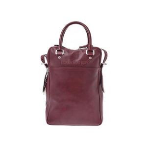 Louis Vuitton quiervechia Porte de Couture Verdique Bordeaux Men's Genuine Leather 2WAY Shoulder Bag AB Rank LOUIS VUITTON Used Ginzo
