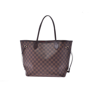 Louis Vuitton Damier Neverfull MM Brown N51 105 Women's Tote Bag A rank beauty item LOUIS VUITTON used Ginzo