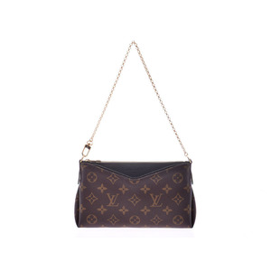 Louis Vuitton Monogram Para Scratch Black M41639 Women's Genuine Leather Shoulder Bag A Rank Beauty Product LOUIS VUITTON Used Ginzo