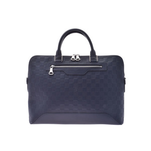 Louis Vuitton Anfini Avenue Briefcase Astral N41020 Men's Genuine Leather Document Bag A Rank Beauty Product LOUIS VUITTON Strap Used Ginzo